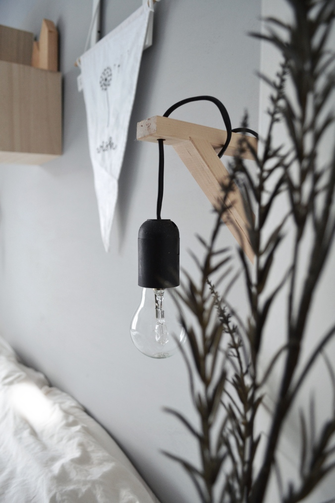 Diy lamp Ikea, a little lovely company